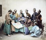The Boshin War (戊辰戦争 Boshin Sensō) was a civil war in Japan, fought from 1868 to 1869 between forces of the ruling Tokugawa Shogunate and those seeking to return political power to the imperial court.<br/><br/>  The war found its origins in dissatisfaction among many nobles and young samurai with the shogunate's handling of foreigners following the opening of Japan during the prior decade. An alliance of western samurai (particularly the domains of Chōshū, Satsuma and Tosa) and court officials secured control of the imperial court and influenced the young Emperor Meiji. Tokugawa Yoshinobu, the sitting shogun, realizing the futility of his situation, abdicated political power to the emperor. Yoshinobu had hoped that by doing this, the Tokugawa house could be preserved and participate in the future government.<br/><br/>  However, military movements by imperial forces, partisan violence in Edo, and an imperial decree promoted by Satsuma and Choshu abolishing the house of Tokugawa led Yoshinobu to launch a military campaign to seize the emperor's court at Kyoto. The military tide rapidly turned in favor of the smaller but relatively modernized imperial faction, and after a series of battles culminating in the surrender of Edo, Yoshinobu personally surrendered. Those loyal to the Tokugawa retreated to northern Honshū and later to Hokkaidō, where they founded the Ezo republic. Defeat at the Battle of Hakodate broke this last holdout and left the imperial rule supreme throughout the whole of Japan, completing the military phase of the Meiji Restoration.